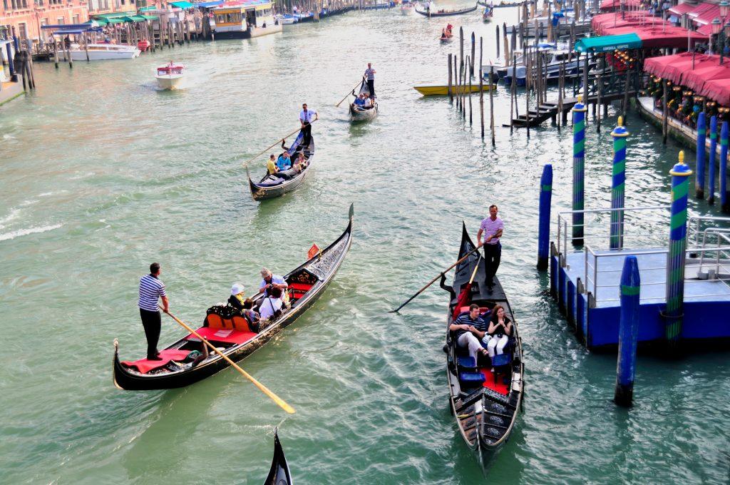 Grand Canal Rialto Venice Italy